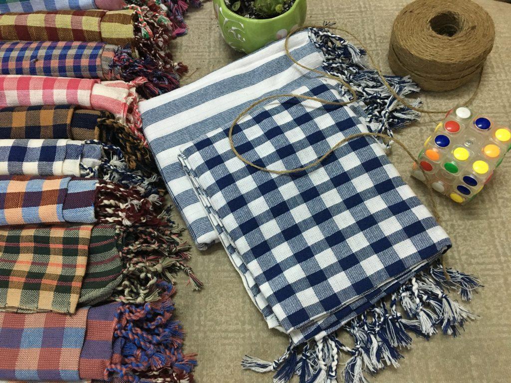 Nét dẹp của khăn rằn nam bộ