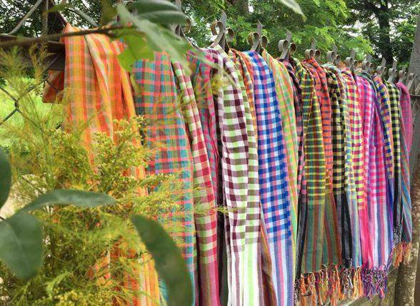 khăn rằn nam bộ se tua