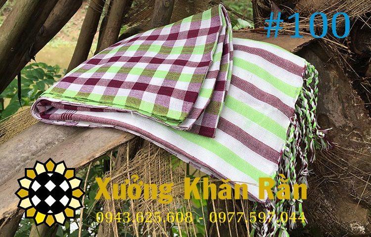Mẫu khăn rằn Nam bộ truyền thống 100