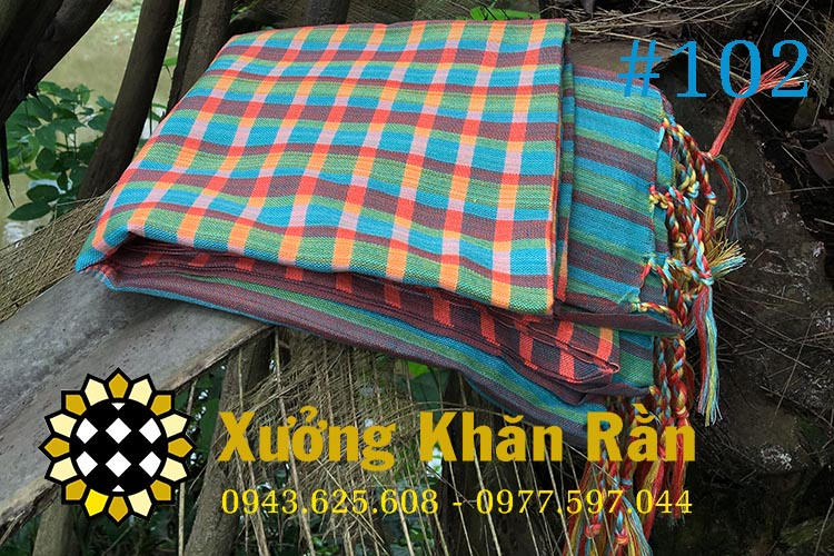 Mẫu khăn rằn Nam bộ truyền thống 102
