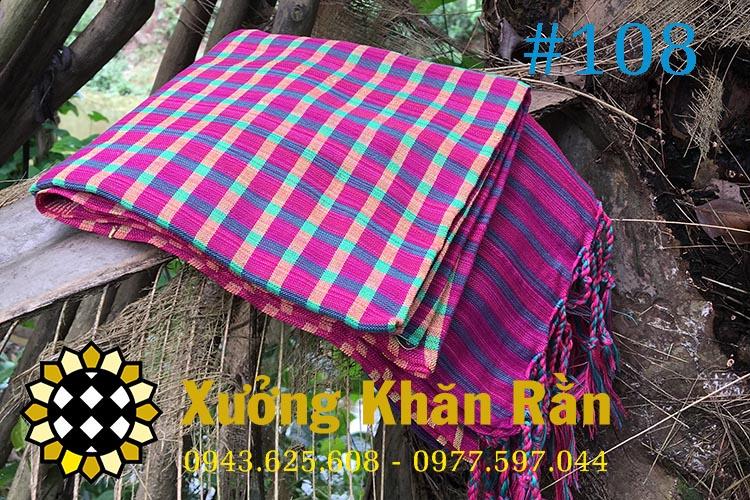 Mẫu khăn rằn Nam bộ truyền thống 108