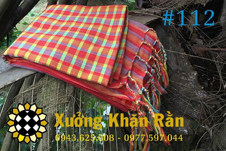 Mẫu khăn rằn Nam bộ truyền thống 112