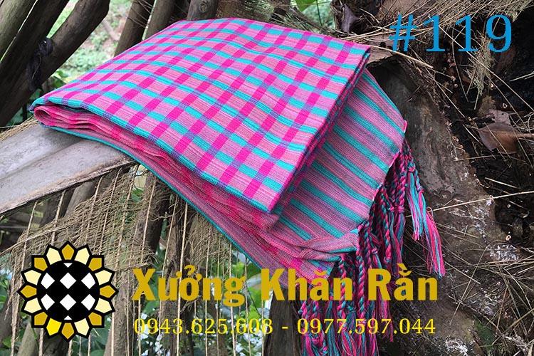 Mẫu khăn rằn Nam bộ truyền thống 119