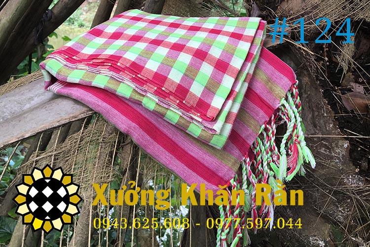 Mẫu khăn rằn Nam bộ truyền thống 124