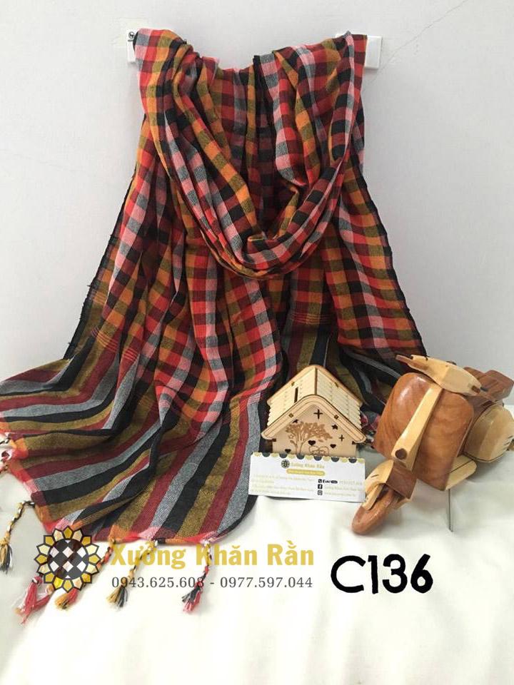 Xưởng khăn rằn nam bộ, cung cấp khăn rằn cambodia giá tốt