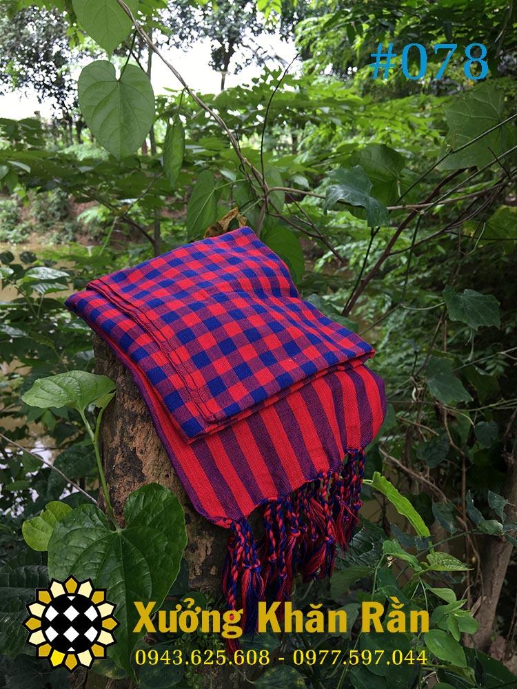 Mẫu khăn rằn Nam bộ được cách tân với chất liệu, mẫu mã đẹp hơn