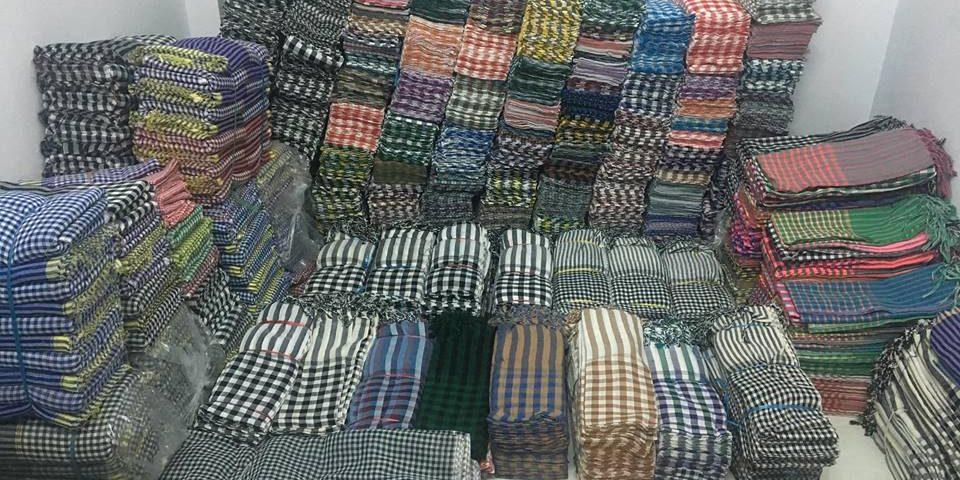 Kho khăn rằn Nam bộ truyền thống