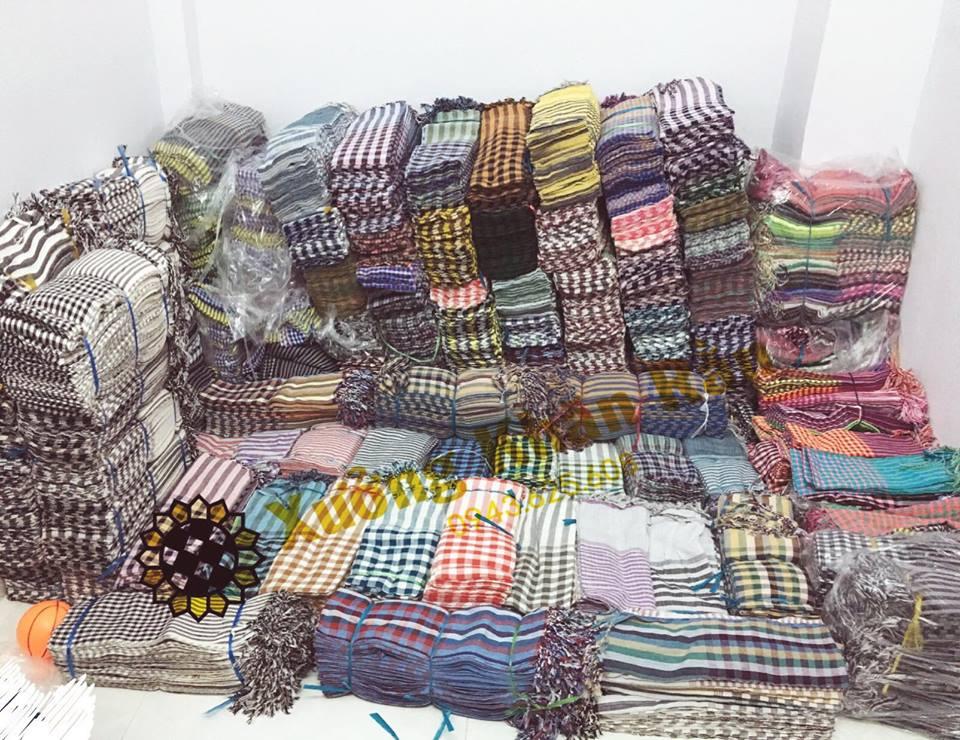 Xưởng khăn rằn Nam bộ truyền thống